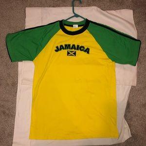Island Tees Jamaica Spell Out Shirt Very Dope